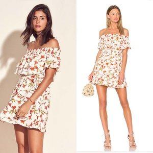 "Lovers + Friends Floral ""Suntime"" Ruffle Dress!"